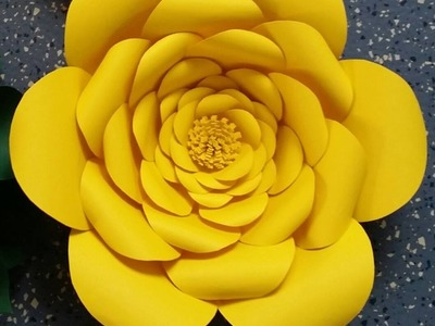 Anastassia Giant Paper Flower