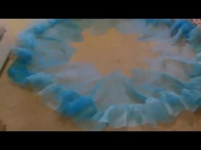Cinderella Live action petticoat tutorial part 2