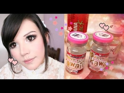 ¿Cómo ponerse los Circle Lens? ♥ How to put Circle Lenses on? ♥ Andy Santana