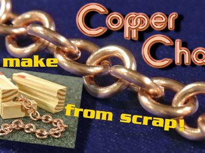 Copper chain building