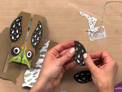 Design an Owl Gate Fold Card with Jen Long, Sizzix