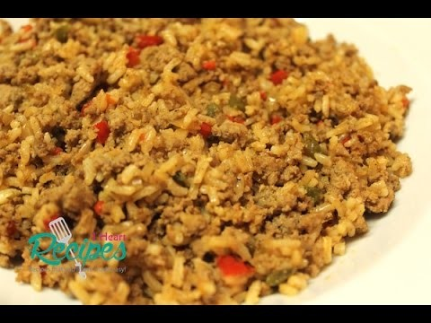 Dirty Rice Recipe - How to make dirty rice with ground turkey - I Heart Recipes