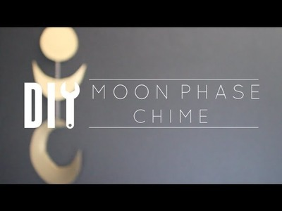 DIY Cheap Room Decor. Moon Phases Chime