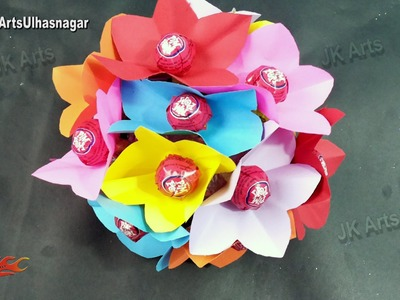 DIY Lollipop Bouquet Tutorial | Gift idea | How to make | JK Arts 924