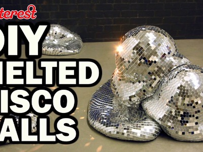 DIY Melted Disco Balls - Pinterest Test #90 - Man Vs Pin