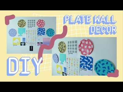 ✿ DIY PLATE WALL DECOR FOR SPRING ♡. BRINGEROFVICTORY