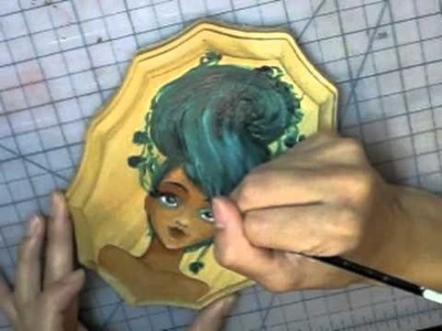 Fire, Earth, Wind, Water, and Void.  Speed Painting the 5 Element Goddesses!