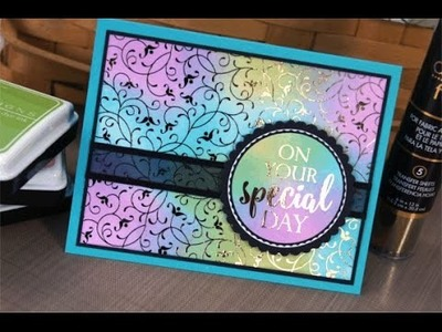 Fun With Foil- Deco Foil Cards