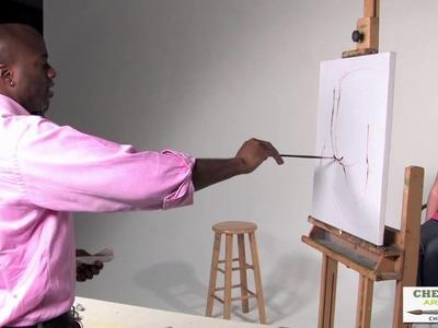 Gordon James - A Head Study With a Live Model - Pt1-The Sketch