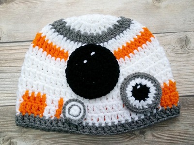 Gorro Inspirado por Star Wars  en crochet  ( Video 1)