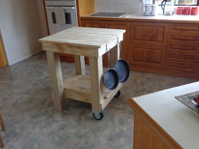 How to build a Kitchen Island Bench