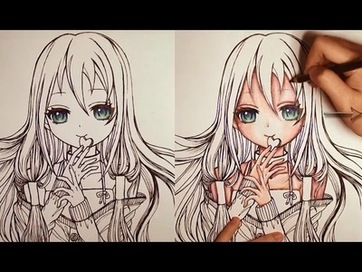 ✿How to Color Skin - Full - Slow version