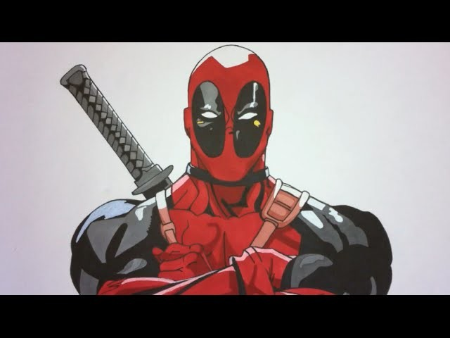 How To Draw Deadpool Step By Step (Marvel)