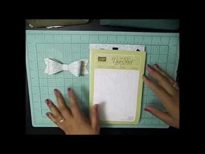 How to Make a Bow with a Sizzix Die- Make it Monday!