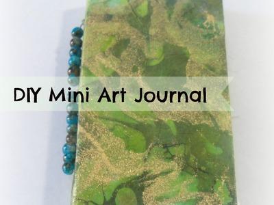 How to make a easy mini Art Journal