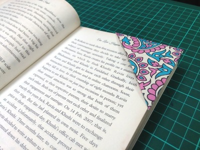 How to make a simple paper bookmark | DIY Paper Craft Videos & Tutorials.