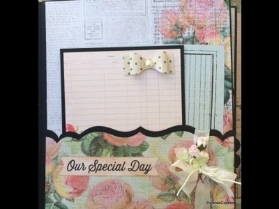 How to use Spellbinders A2 Bracket Border dies for mini album pockets!