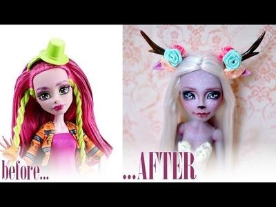 Magic Deer ~ Repainting Marisol Coxi Monster High doll