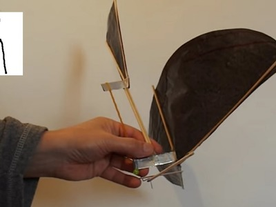 My first Ornithopter thanks to Uno Para Todo