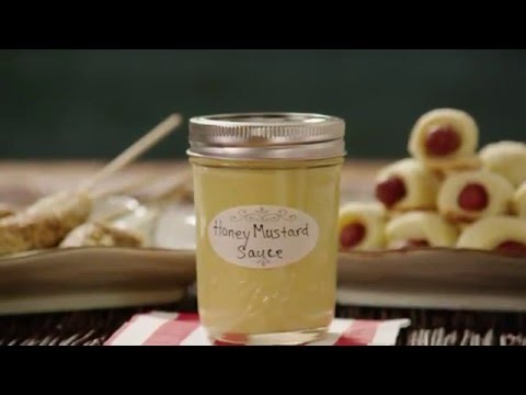 Sauce Recipes - How To Make Honey Mustard Dipping Sauce