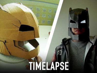 Timelapse - Making Armored Batman Mech Suit Helmet | Dali DIY