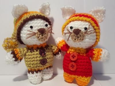 Tutorial Gattino Uncinetto - Amigurumi - Kitten Crochet - Gatito Croche Gatto