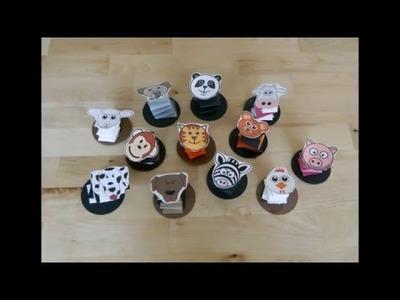 Accordion Paper Animal Craft
