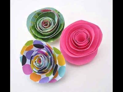 Craft Paper Ideas And Craft Paper Flowers