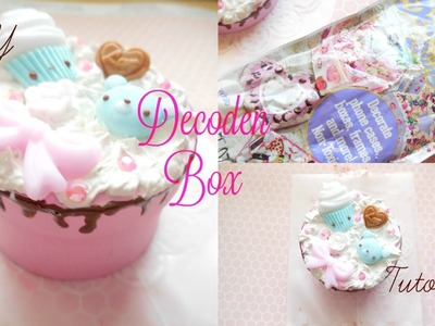 CUTE and EASY DIY Decoden Box Tutorial + Deco Whip at Hobby Lobby?