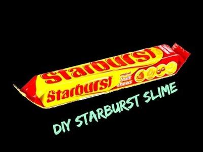 DIY Edible Starburst Slime