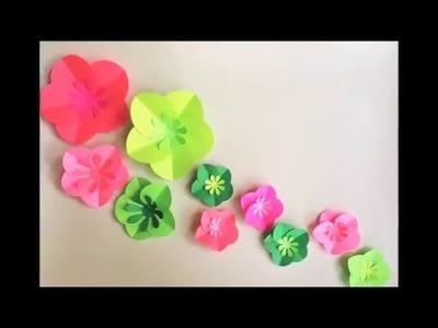 DIY Paper Craft: Easy Paper Flowers