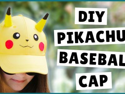 DIY Pikachu Baseball Cap | DIY Pikachu Hat | DIY Pokémon Craft