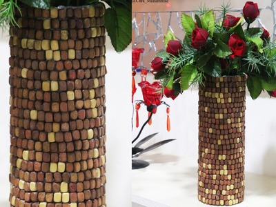 DIY Recycling: Potato Chip Can to Vase