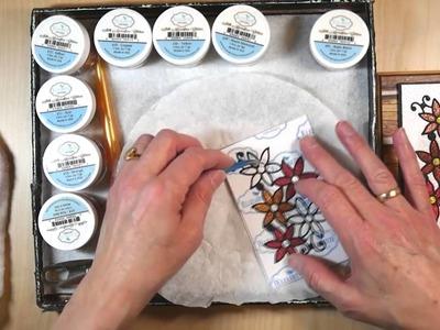 Elizabeth Craft Designs Imprint Technique with Adhesive Tape