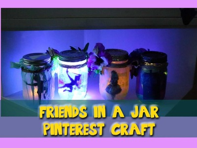 Friends in a Jar (a fun Pinterest craft for all ages)- @dramaticparrot