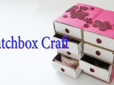 Hand Made Matchbox Craft | Best From Waste Material | Hand Creativity | Easy Step to Follow