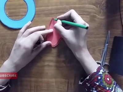 How to Make Homemade Craft Paper Butterfly Paper Ring Tutorial 2016