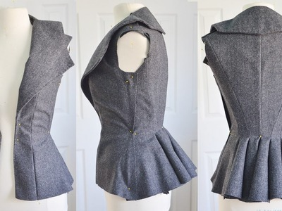 Making an 1890's Sporting Jacket : Part One