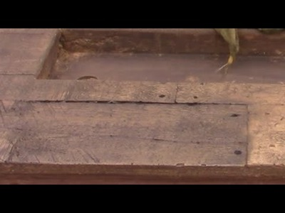 Warped Wood Concrete Fire Table How to