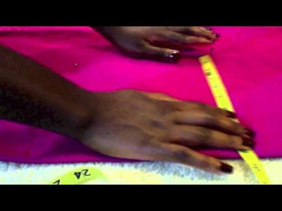 Wide Leg Trousers Part One: Measure and Pin