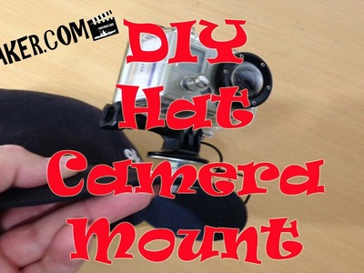 DIY Basball Hat GoPro and Action Video Camera Mount: Episode 311