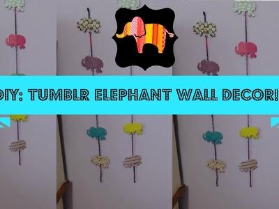 DIY ~ DIY: Tumblr Elephant Room Decor!