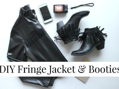 DIY Festival Clothing Essentials   Fringe Jacket & Booties