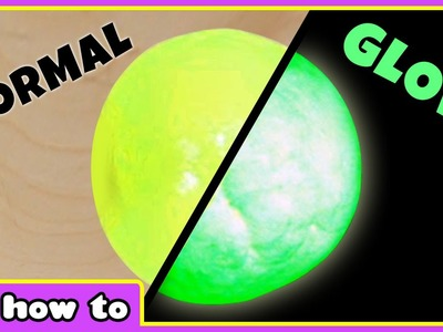 DIY Glowing in the Dark Bouncy Balls | Glow Magic Slime | HooplaKidz How To