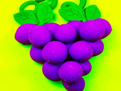DIY: How to Make Homemade Colorful Grape Playdough! Made with Cream of Tartar!
