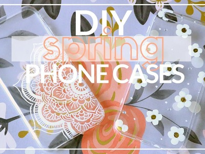 DIY SPRING PHONE CASES - Marc Jacobs Daisy & White Henna