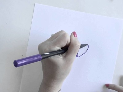 DIY Starry Night Hand Lettering Tutorial