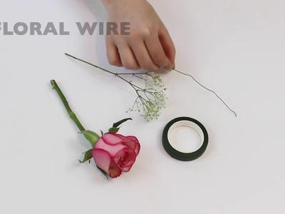 DIY Wine Glass Flower Charms