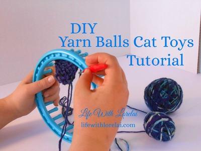 DIY Yarn Balls Cat Toys with Catnip   Life With Lorelai