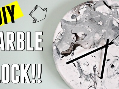IKEA HACK ⚠️ DIY MARBLE CLOCK
